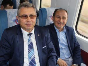 Konyalılar Ankara'ya hızlı trenle gitti