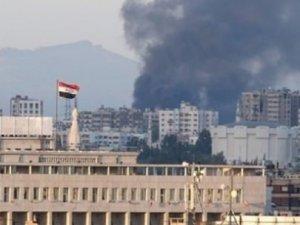 Şam'daki Rus Büyükelçiliği vuruldu