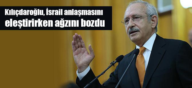 Kılıçdaroğlu, İsrail anlaşmasını eleştirirken ağzını bozdu