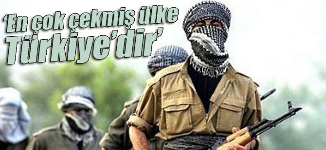 """""""Terörden en çok çekmiş ülke Türkiye'dir"""""""