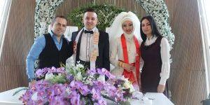 Ayşe ile Emir'in mutlu günü