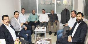 92 mezunlarından Koyuncuoğlu'na umre ziyareti
