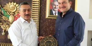 Dekan Türker'den Başkan Tutal'a veda ziyareti