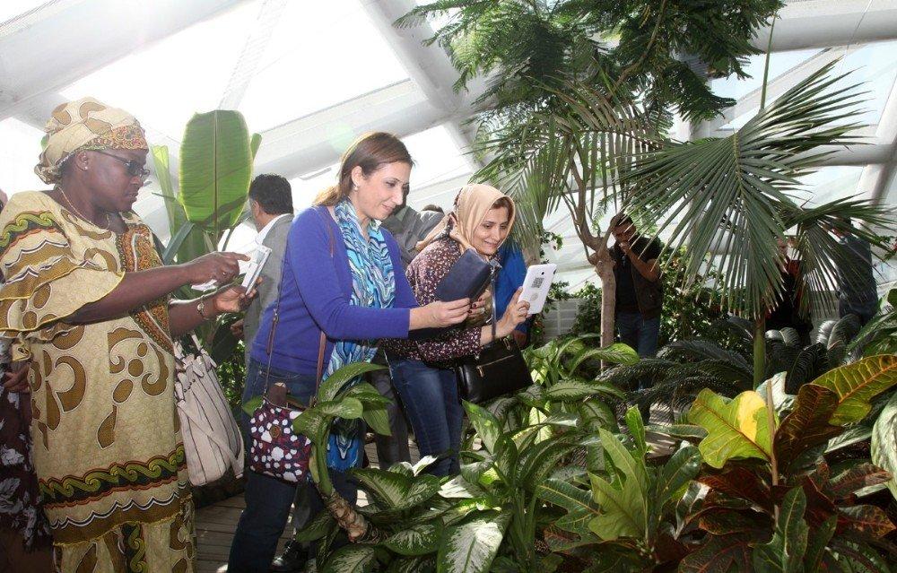 Konya'nın favori ziyaret mekanı Tropikal Kelebek Bahçesi