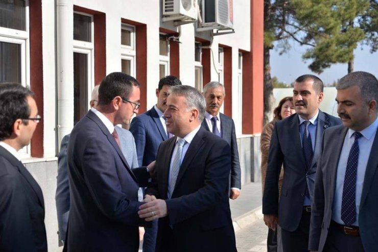 İl Tarım ve Orman Müdürü Mustafa Şahin görevine başladı