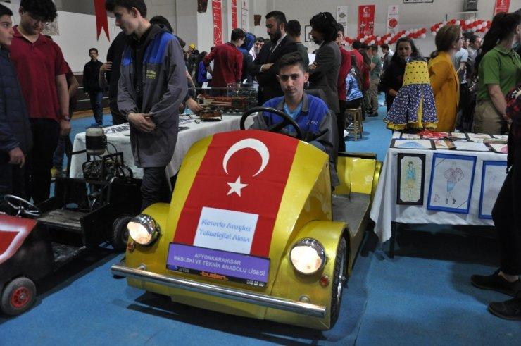 Afyonkarahisar'da teknoloji sergisi açıldı