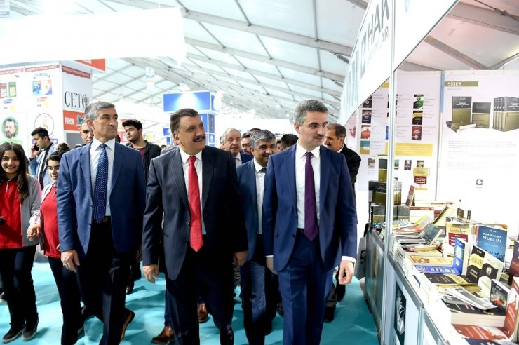 8. Anadolu Kitap ve Kültür Fuarı resmi açılış töreni yapıldı