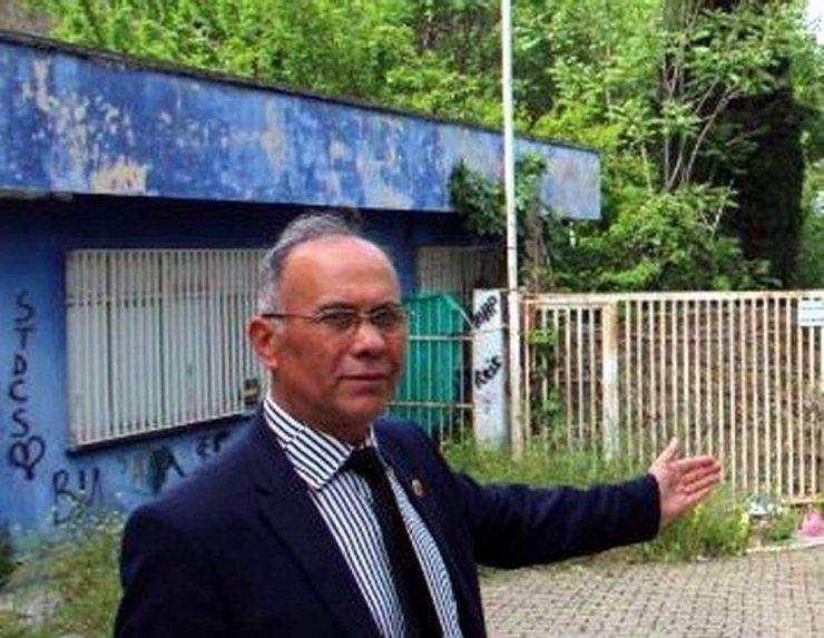Efeler'de vatandaşlar duvar yazılarına tepki gösterdi