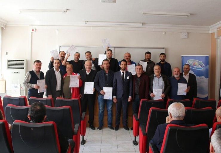 TSO işbirliğince MYK belge töreni ve bilgilendirme toplantısı yapıldı