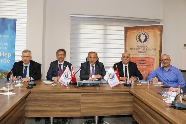 Manisa TSO'da CERN bilgilendirme toplantısı düzenlendi