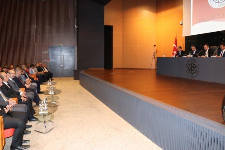 KTO Mart Ayı Meclis Toplantısı yapıldı