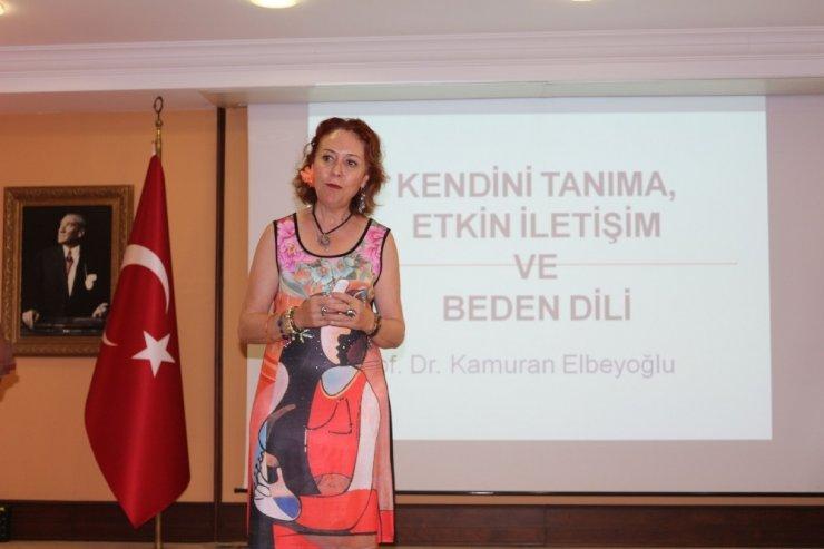 Avukatlara 'Kişisel Gelişim ve Beden Dili' eğitimi verildi