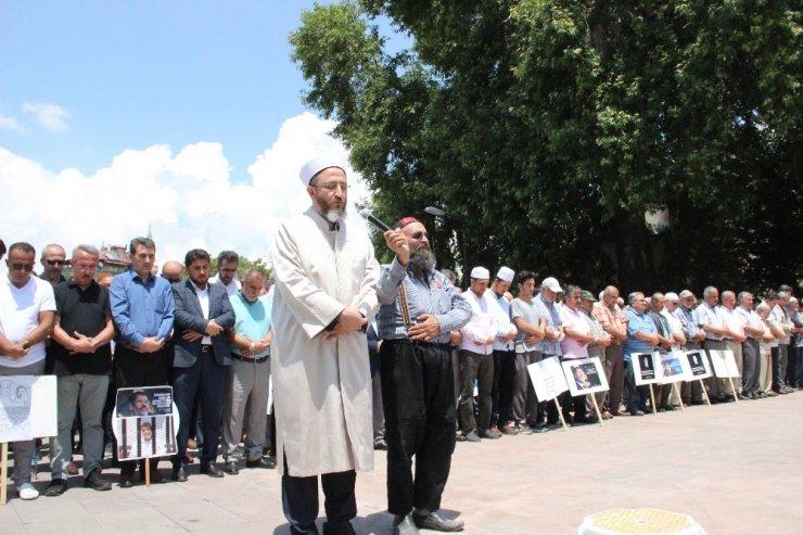 Muhammed Mursi için Karaman'da gıyabi cenaze namazı kılındı