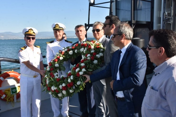 1 Temmuz Kabotaj Bayramı Edremit'te kutlandı