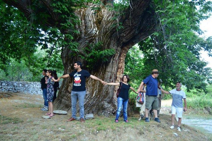 Antalyalı gazetecilerin ÇGD ile kültür gezisi