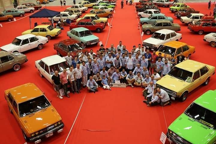 Antika Otomobil Federasyonunun düzenlediği festivalde Bilecik'i temsil etti