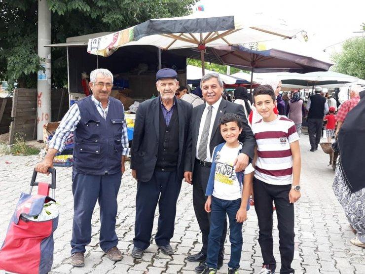 Başkan Arif Teke: Altıntaş'ın yararına olacak her türlü düşünceyi desteklemeye hazırız