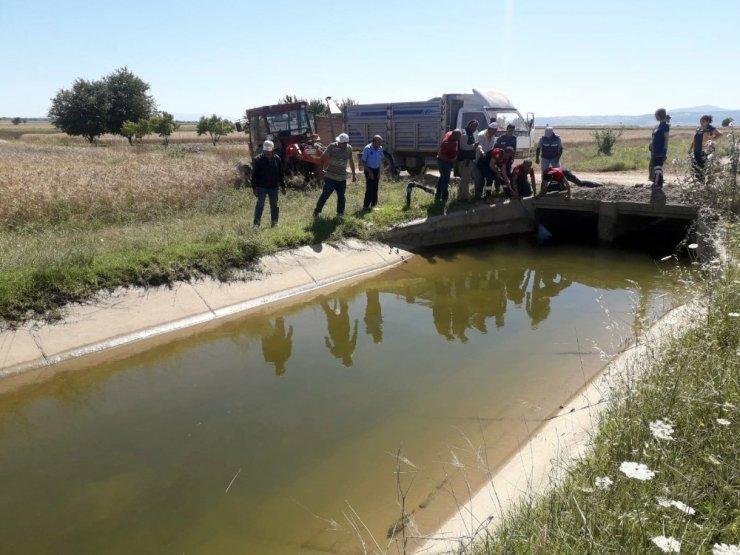 Denizli'de sulama kanalında ceset bulundu