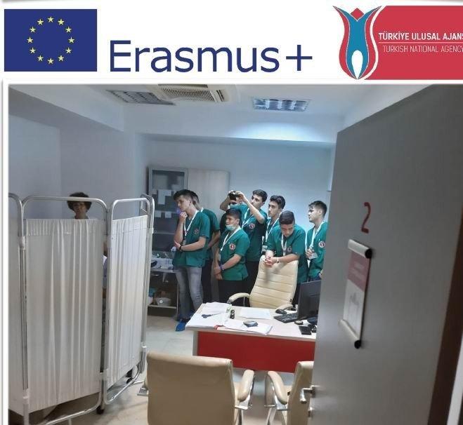 Eskişehirli öğrenciler Romanya'da stajda