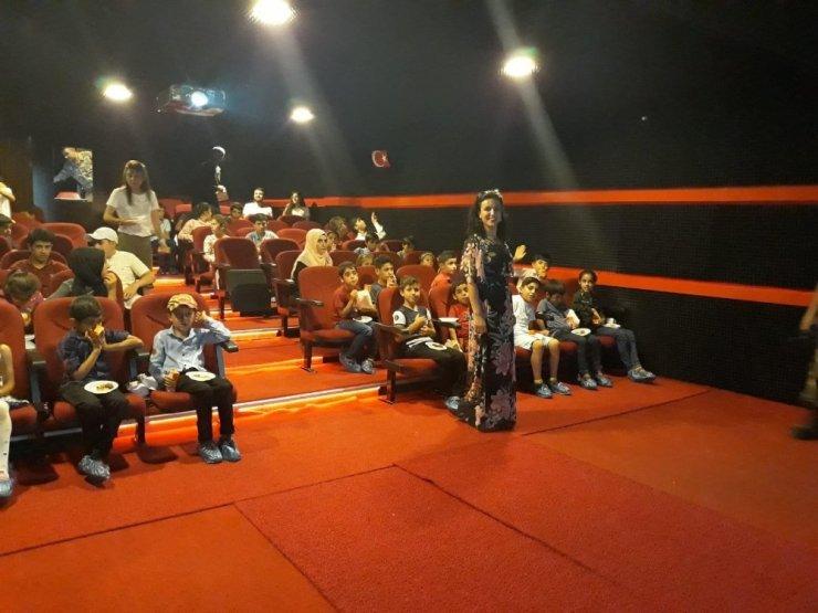 Şehit ve gazi çocukları için film etkinliği