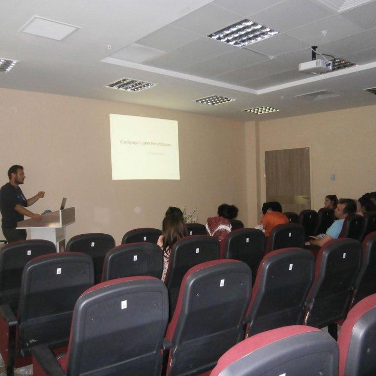 Hastane personeline 'Temel yaşam ve ileri yaşam desteği eğitimi'