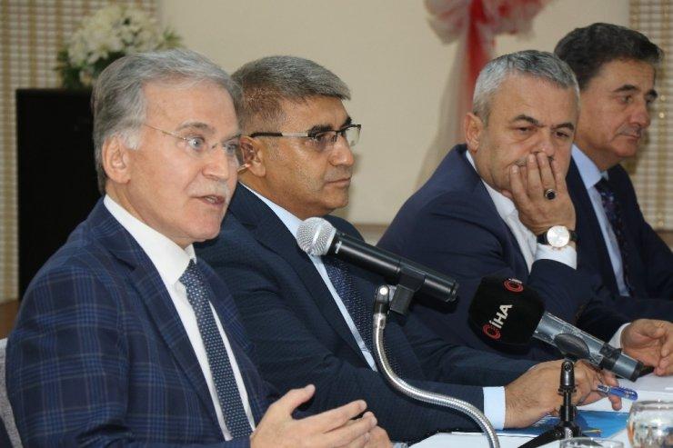 """Şahin: """"Filyos Limanı Türkiye ve bölge için çok önemli olan bir projedir"""""""