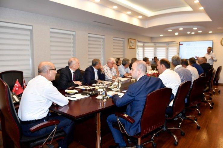 Karataş Sera OSB Müteşebbis Heyeti Toplantısı