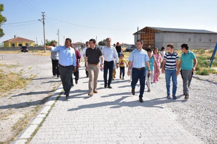 Karatay'da mahalle ziyaretleri sürüyor
