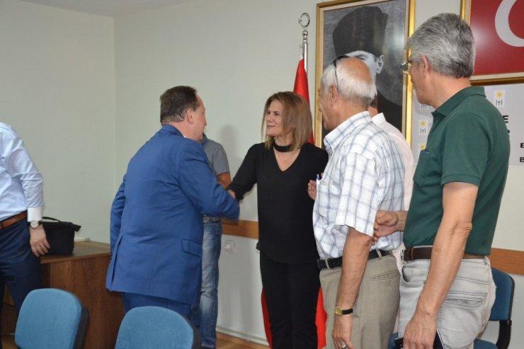 Karesi Belediye Başkanı Orkan, İYİ Partiyi ziyaret etti