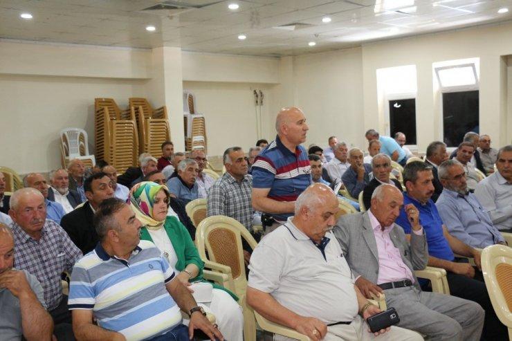 Tosya'da muhtarlar toplantısı yapıldı