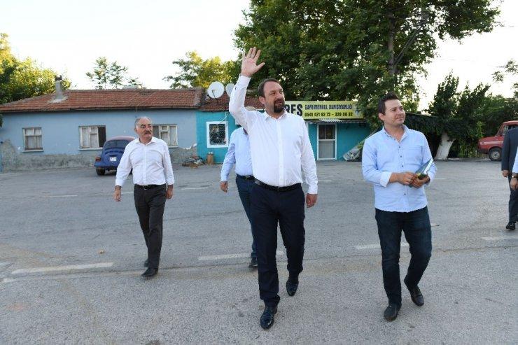 Başkan Gümrükçü'den iki mahallede şafak mesaisi