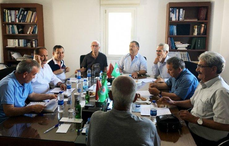 Ziraat Odaları Koordinasyon Kurulu Bodrum'da toplandı