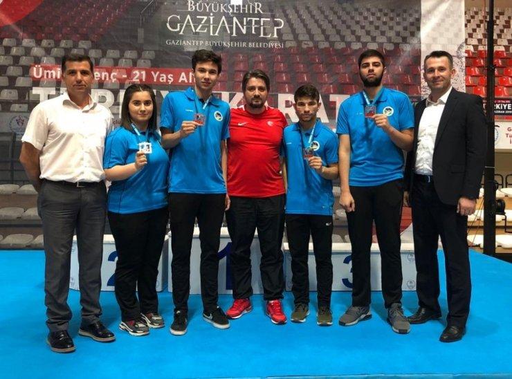 Gaziantep'te 4 madalya Sakarya Büyükşehir'in