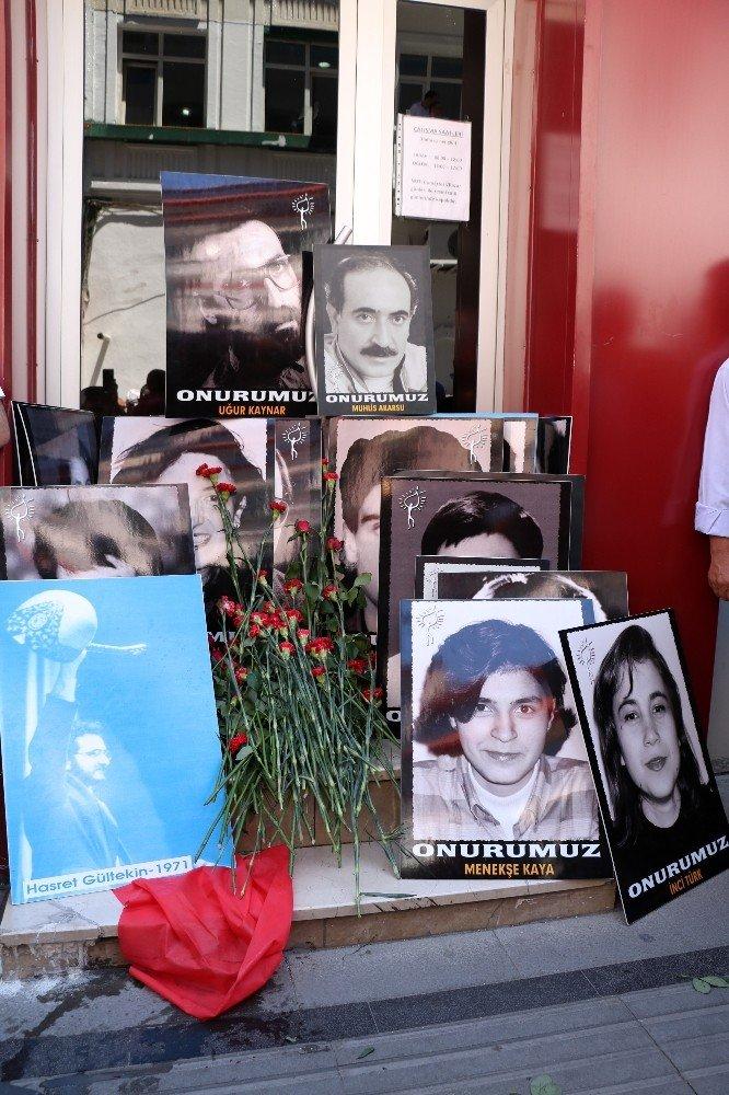 Sivas'ta Madımak olaylarında ölenler anıldı