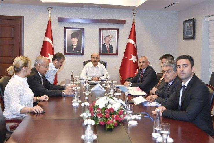 Güney Adana Kalkınma Programı çalışmaları değerlendirildi