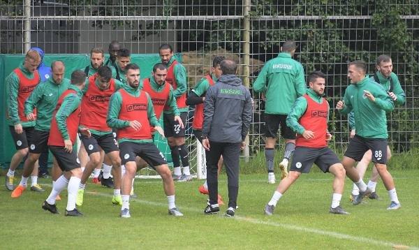 Konyaspor'un Bolu kampındaki hazırlıkları sürüyor