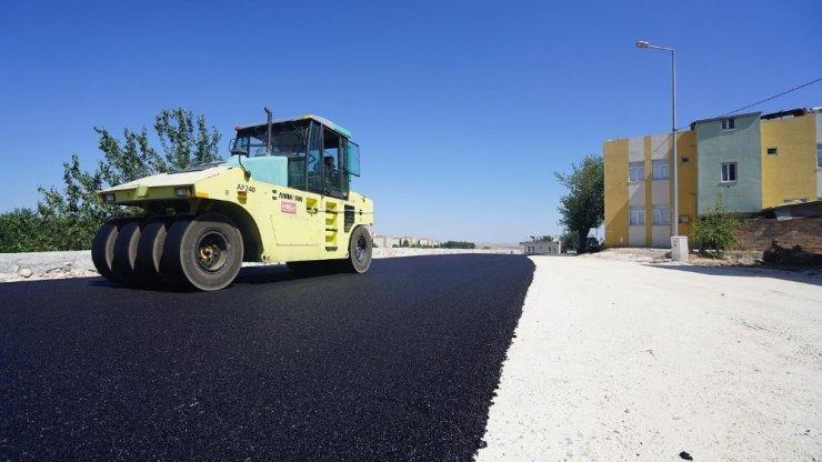 Bahçecik mahallesinde asfalt çalışması yapıldı