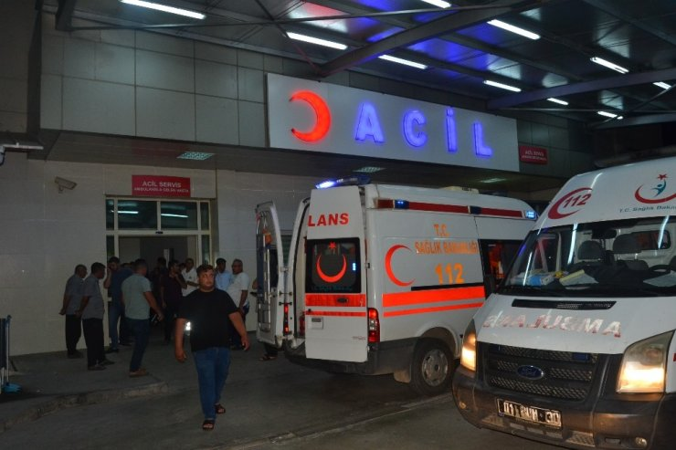 Adana'da düğünde çıkan silahlı kavgada iki çocuk yaralandı