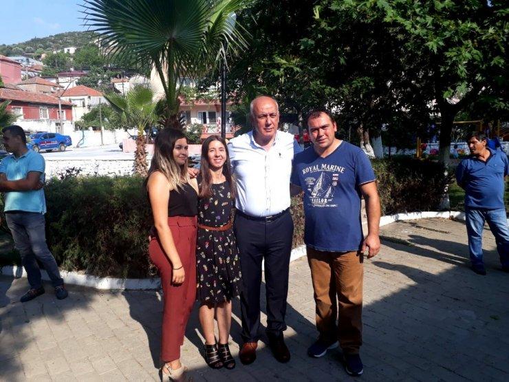 Başkan Tuncel'den kadın girişimciye destek