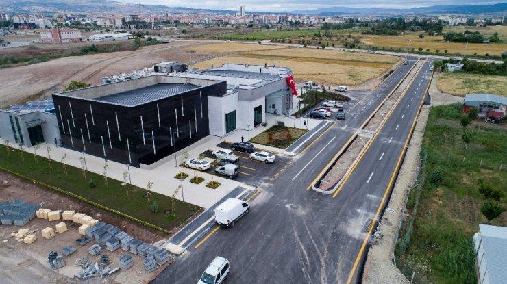Ankara Büyükşehir Belediyesinden ilçe belediyelerine asfalt desteği