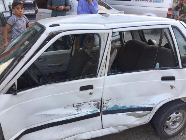 Alanyurt yolunda yine kaza: 2 yaralı