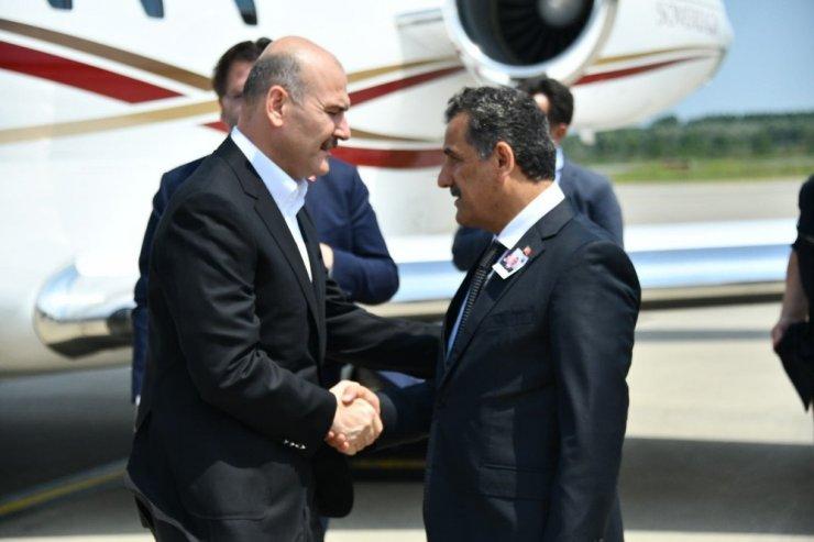 İçişleri Bakanı Soylu Samsun'da