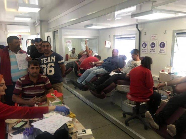 Çıldır'da kan bağışına yoğun ilgi