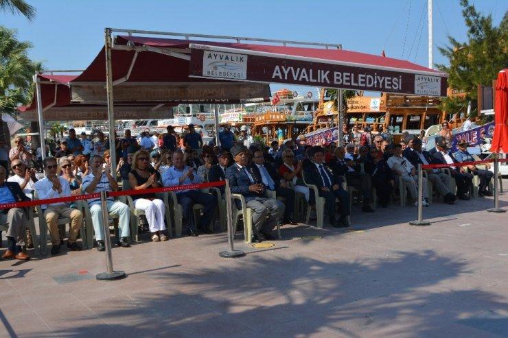 Ayvalık'ta Kıbrıs Barış Harekâtı'nın 45. yıldönümü unutulmadı