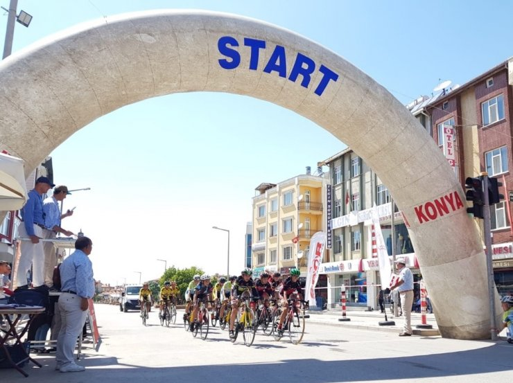 Ilgın Kaplıca Kupası bisiklet yarışları yapıldı