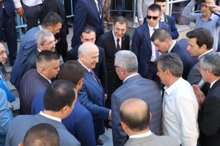 """MHP lideri Bahçeli: """"AB'yle bir yol ayrımına gelinmiştir, bir karar arifesinde olduğumuz açıktır"""""""