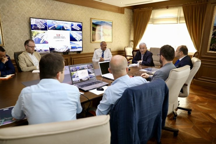 Ünye Port ve Kruvaziyer Limanı için proje çalışmaları başladı