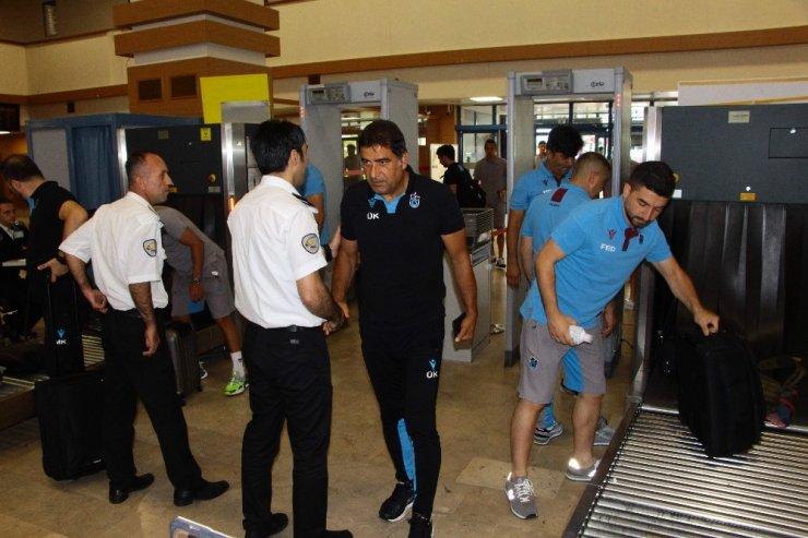 Trabzonspor, yeni sezon öncesi 2. etap kamp çalışmaları için Avusturya'ya gitti