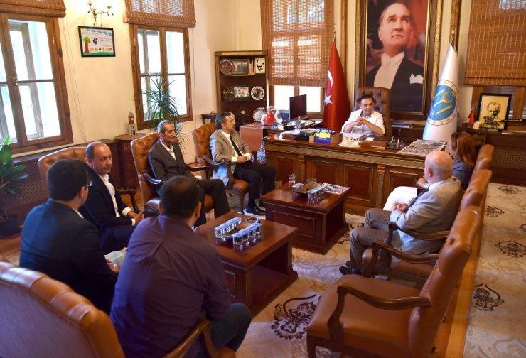 Tepebaşı Belediye Başkanı Ataç'tan Bilecik Belediye Başkanı Şahin'e hayırlı olsun ziyareti