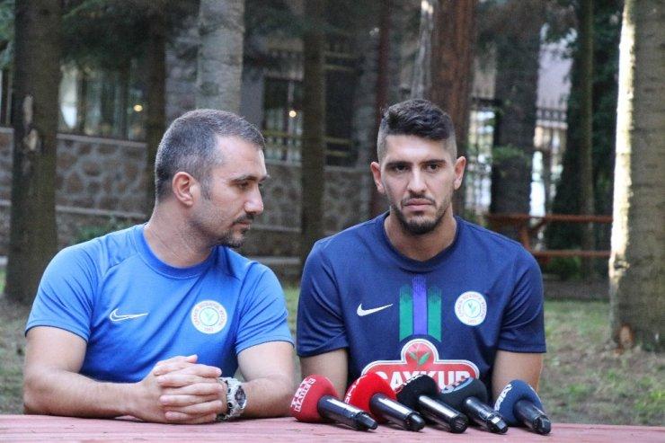 """Dimitrios Chatziisaias: """"Hem takım olarak hem de bireysel hedeflerim var"""""""